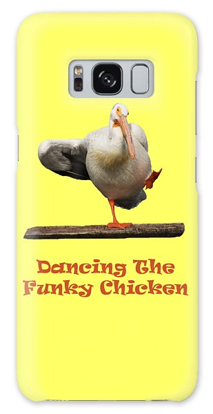 Dancing The Funky Chicken Galaxy Case