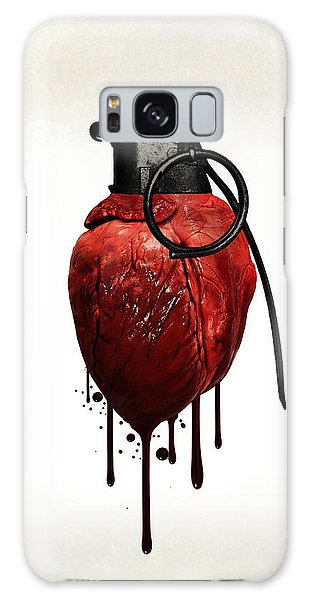 Heart Galaxy Case - Heart Grenade by Nicklas Gustafsson