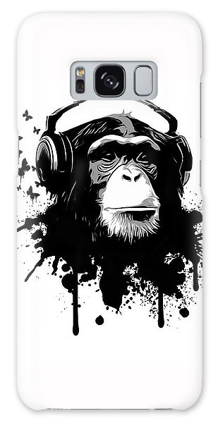 Animal Galaxy Case - Monkey Business by Nicklas Gustafsson