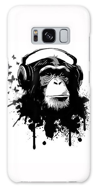 Galaxy Case - Monkey Business by Nicklas Gustafsson