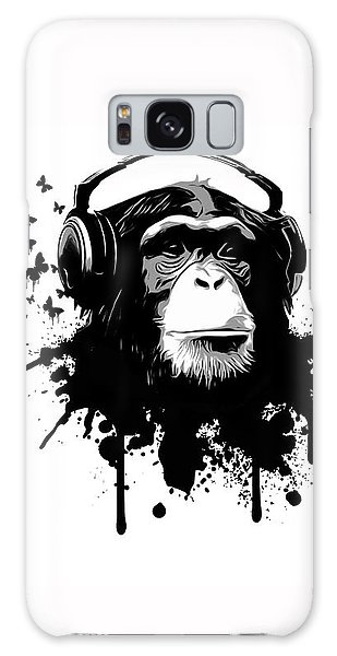 White Galaxy Case - Monkey Business by Nicklas Gustafsson