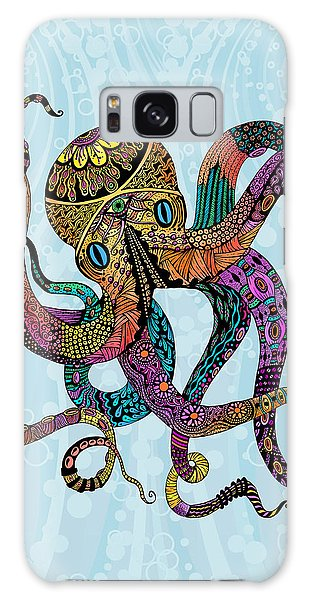 Electric Octopus Galaxy Case
