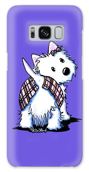 Dressed To Kilt Westie Galaxy Case
