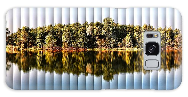 When Nature Reflects - The Slat Collection Galaxy Case by Bill Kesler