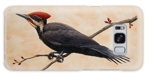 Woodpecker Galaxy S8 Case - Pileated Woodpecker by Crista Forest