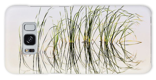 Graceful Grass Galaxy Case by Bill Kesler