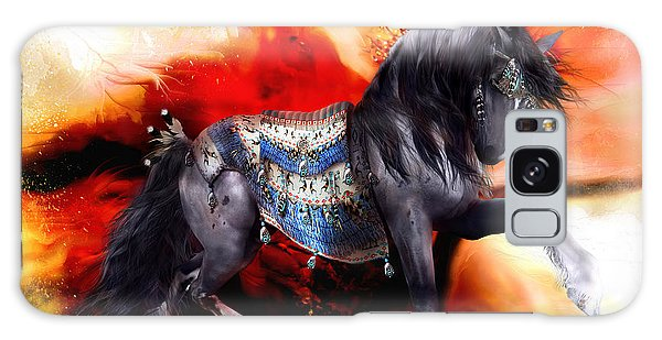 Kachina Hopi Spirit Horse  Galaxy Case