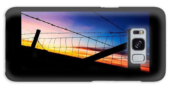 Hilltop Sunset Galaxy Case by Bill Kesler