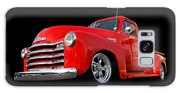 1952 Chevrolet Truck At The Diner Galaxy Case by Gill Billington