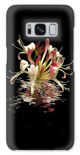 Honeysuckle Reflections Galaxy Case