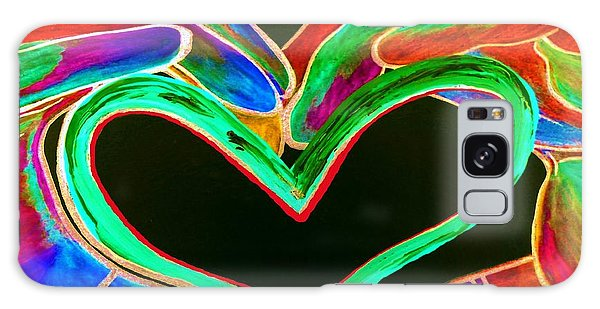 Universal Sign For Love Galaxy Case