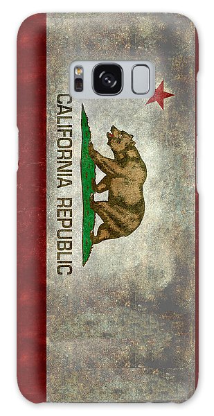 California Republic State Flag Retro Style Galaxy Case