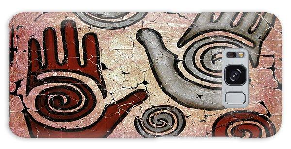 Healing Hands Fresco Galaxy Case