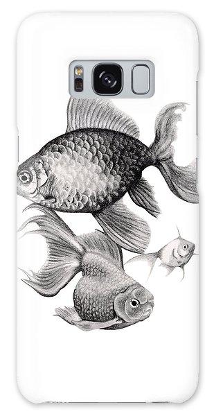 Goldfish Galaxy Case - Goldfish by Sarah Batalka
