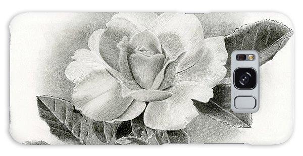Plants Galaxy Case - Vintage Rose by Sarah Batalka