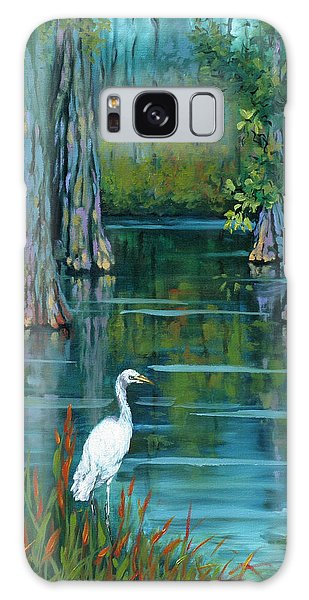 Crane Galaxy S8 Case - The Fisherman by Dianne Parks