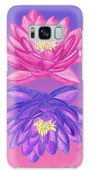 Sunrise Sunset Lotus Galaxy Case