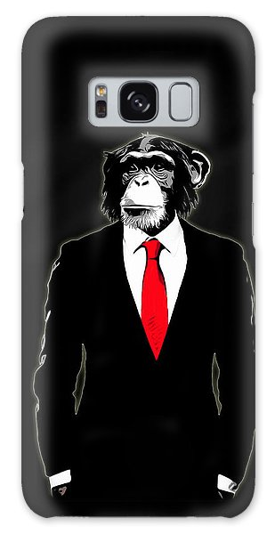 Powerful Galaxy Case - Domesticated Monkey by Nicklas Gustafsson