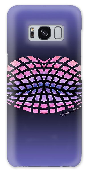 Vasarely Style Lips Galaxy Case