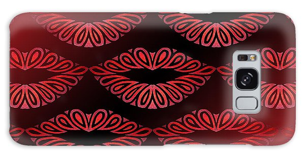 Tribal Lips Galaxy Case