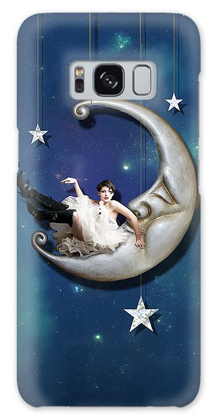 The Sky Galaxy Case - Paper Moon by Linda Lees