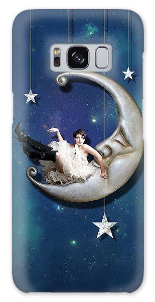 Fantasy Galaxy Case - Paper Moon by Linda Lees