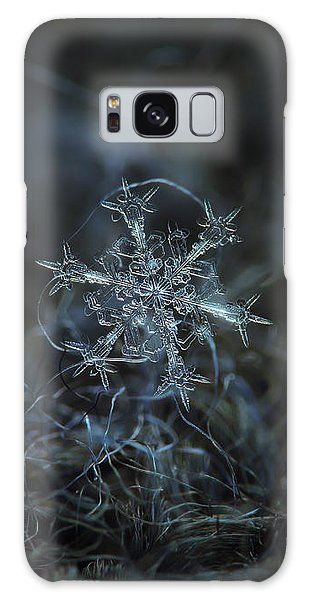 Snowflake Photo - Starlight Galaxy Case