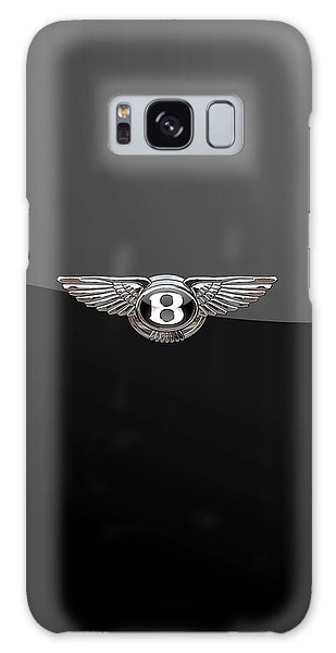 Bentley - 3d Badge On Black Galaxy Case