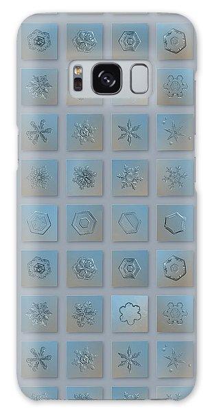 Snowflake Collage - Season 2013 Bright Crystals Galaxy Case
