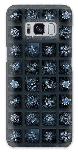 Snowflake Collage - Season 2013 Dark Crystals Galaxy Case