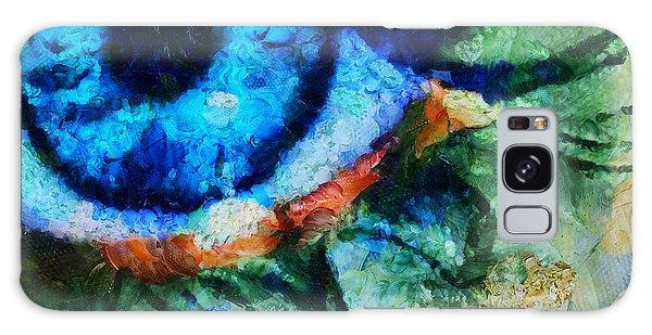 As He Said Goodbye - Painting  Galaxy Case by Sir Josef - Social Critic -  Maha Art