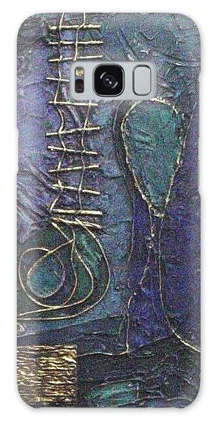 Ascending Blue Galaxy Case by Bernard Goodman