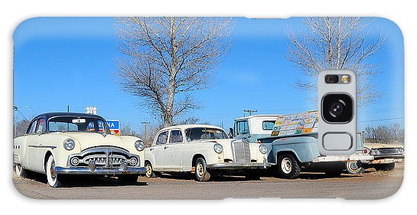 Ash Fork Vintage Cars Along Historic Route 66 Galaxy Case