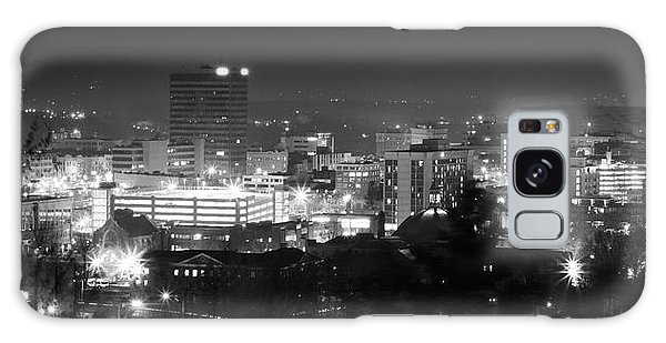 Asheville North Carolina Skyline Galaxy Case