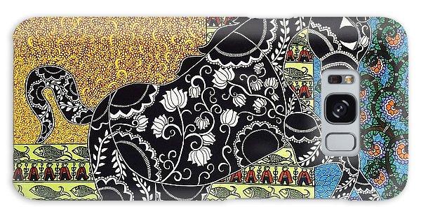 Madhubani Galaxy Case - Ashvabhatta by Sweta Jha