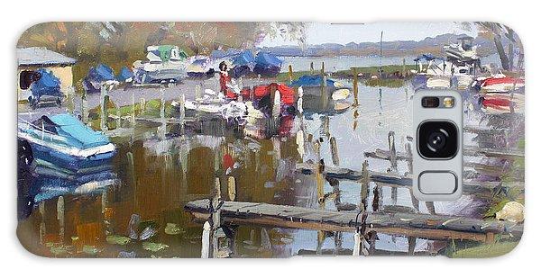 Marina Galaxy Case - Ashville Bay Marina by Ylli Haruni