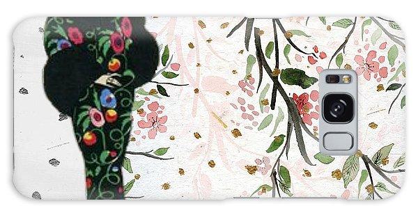 Asian Art Deco Beauty Galaxy Case