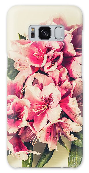 Decorative Galaxy Case - Asian Floral Rhododendron Flowers by Jorgo Photography - Wall Art Gallery