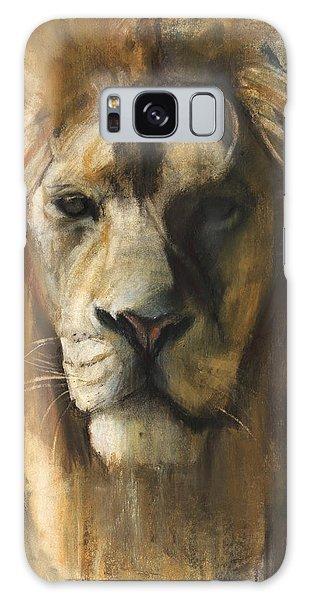 Asiatic Lion Galaxy Case by Mark Adlington