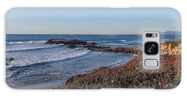 Asilomar Shoreline Galaxy Case by Mark Barclay