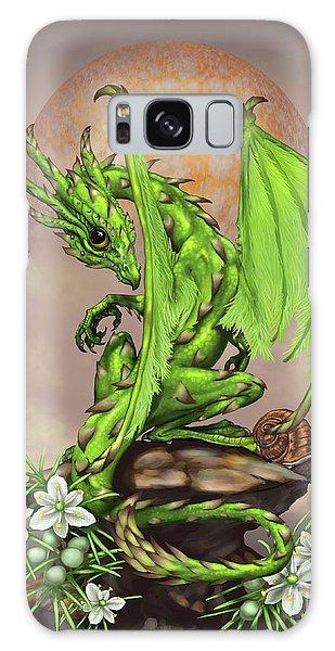 Asparagus Dragon Galaxy Case by Stanley Morrison