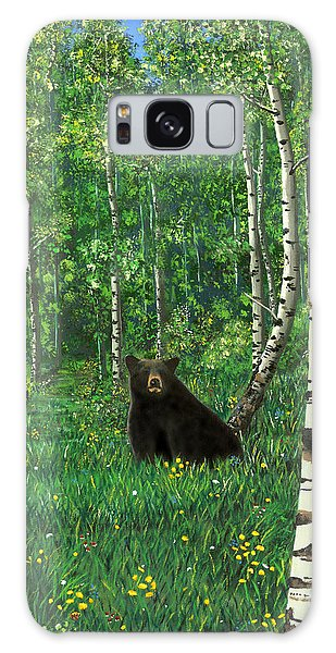 Aspen Bear Nursery Galaxy Case
