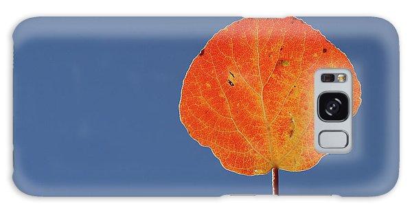 Aspen Leaf 1 Galaxy Case