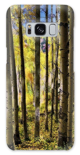 Galaxy Case featuring the photograph Aspen Mood - Autumn - Colorful Colorado by Jason Politte