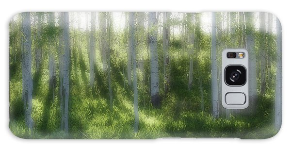 Aspen Morning 2 Galaxy Case by Marie Leslie