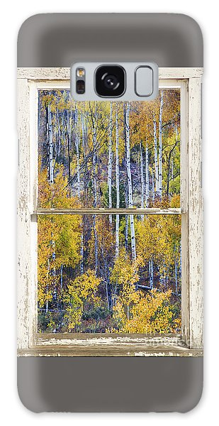 Aspen Tree Magic Cottonwood Pass White Farm House Window Art Galaxy Case