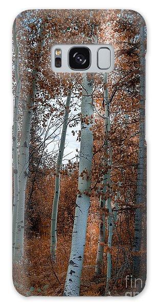 Aspen Trees Ryan Park Wyoming Galaxy Case