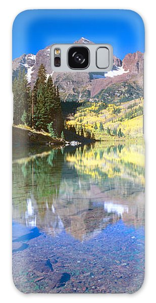 Contour Galaxy Case - Aspens And Morning Light, Maroon Bells by Panoramic Images