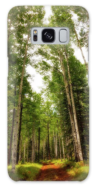 Galaxy Case featuring the photograph Aspens Galore by Rick Furmanek