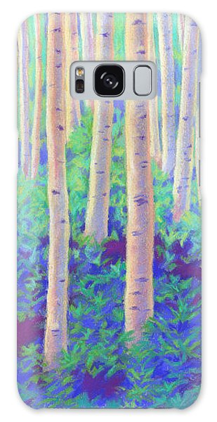 Aspens In Aspen Galaxy Case